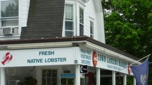 "Town Landing Market - ""Native Fresh Lobster"""