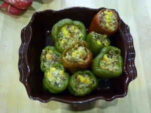 Yum! Casserole of my stuffed peppers