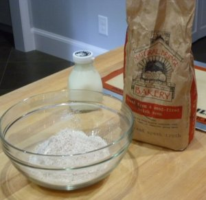 Great ingredients - check out the soft wheat grain