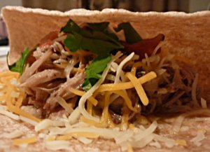Have a Slow Cooker Carnitas taco for supper