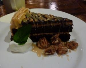 Chocolate Peanut Butter cake - yum