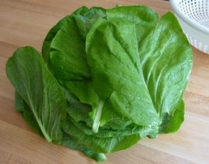 Check out Von's mustard greens