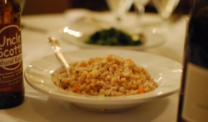 Farro pilaf - Hubby's mom absolutely loved this and told Natalie so