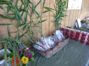 Hit the Matthews market for Windcrest Farm's baby ginger!